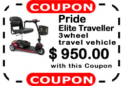 Pride Elite Traveller from Mrs Mobility